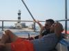 Grzegorz i Krzysio planują desant na Dedalus Reef
