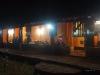 Wieczorna impreza w posadzie. Wenezuela, Los Llanos.